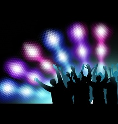 Colored Nightlife vector image