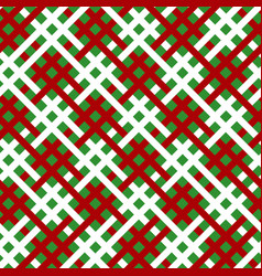 Green white red line seamless pattern vector