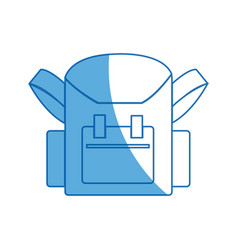 school bag back to school accessory vector image