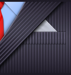 unusual tuxedo background vector image