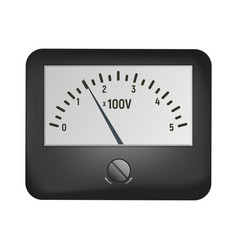 a voltmeter measures the electrical voltage vector image