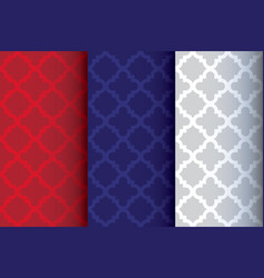 Abstract arabian pattern style seamless background vector