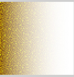 Background made gold sequins glitters dots vector