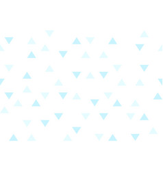 blue sky colorful abstract triangles retro paper vector image