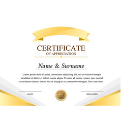 Certificate template construction warranty vector