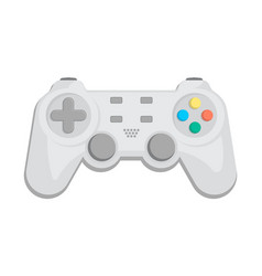modern gamepad icon in cartoon style vector image
