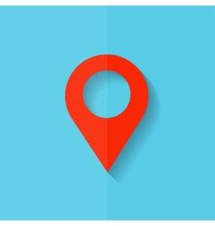 Pointer web icon Flat design vector image