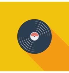 Record icon vector