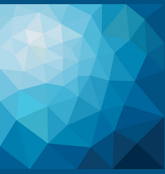 abstract triangular low poly blue vector image