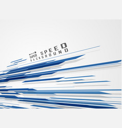 blue technology line pattern of speed futuristic vector image