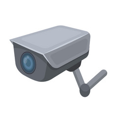 Cctv camera in the prison the system of vector