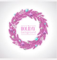 Christmas greeting in trendy vector