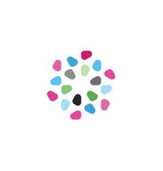 gemstones jewelry logo icon design vector image