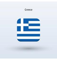 Greece flag icon vector