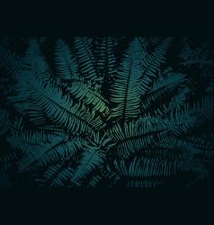 Texture of a fern vector