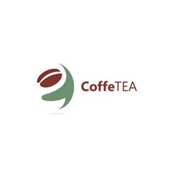 coffe tea vector image