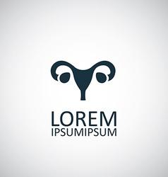 gynecology icon vector image