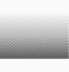 halftone dots monochrome texture background vector image