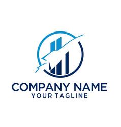 Trademark logo template vector