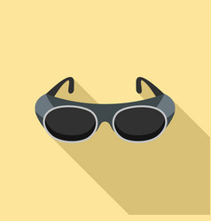 welding glasses icon flat style vector image