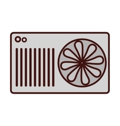 Air conditioning icon image vector