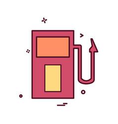 fuel station icon design vector image