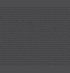 seamless texture brick wall old grey brick vector image
