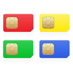 sim card 02 vector image