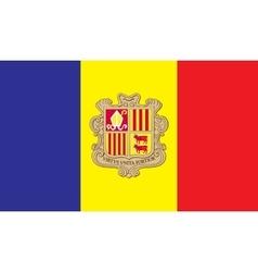 Andorra flag image vector image vector image