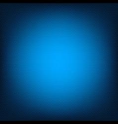 Blue honeycomb texture vector