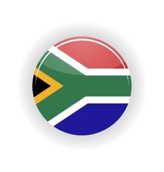 South Africa icon circle vector image