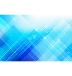 abstract blue background with basic geometry vector image