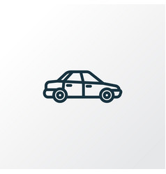 automobile outline symbol premium quality vector image