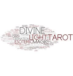 divine word cloud concept vector image