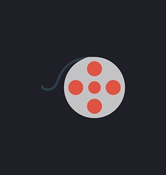 Film reel computer symbol vector