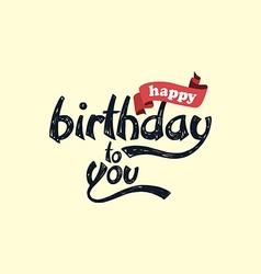 Happy birthday art theme vector