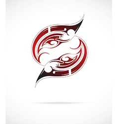 Maori tattoo vector
