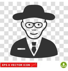 Scientist EPS Icon vector image