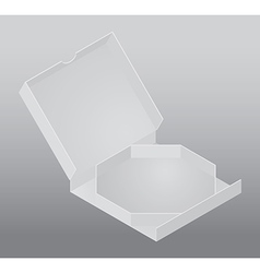 Blank packing box vector image