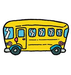 schoolbus vector image