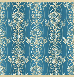 baroque seamless pattern abstract seamless vector image