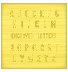 Font gold vector