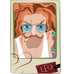 Leo man vector