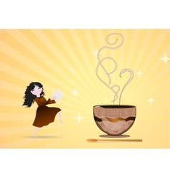 sugar fairy vector image