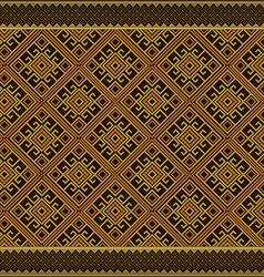 Thai art pattern vector image