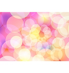 Abstract circle design with multicolored vector image