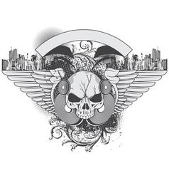 grunge urban vector image
