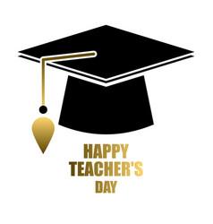 Happy teacher s day vector