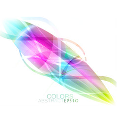 Abstract colors vector