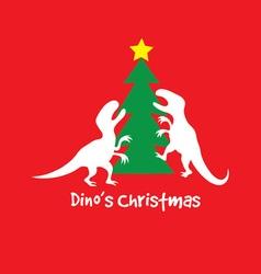 Cute Dino Cartoon vector